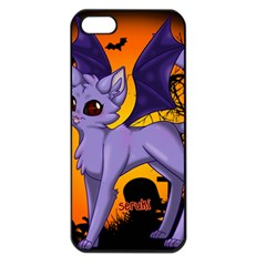 Serukivampirecat Apple iPhone 5 Seamless Case (Black)