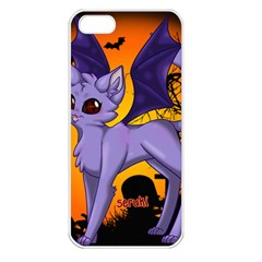 Serukivampirecat Apple iPhone 5 Seamless Case (White)