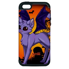 Serukivampirecat Apple iPhone 5 Hardshell Case (PC+Silicone)