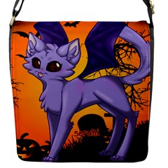 Serukivampirecat Flap closure messenger bag (Small)