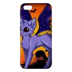 Serukivampirecat iPhone 5S Premium Hardshell Case