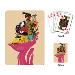 Urban Transit Playing Cards Single Design
