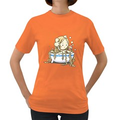 Noodle Girl Womens' T Shirt (colored)