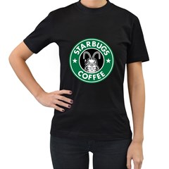 Starbugs Womens' Two Sided T-shirt (Black)