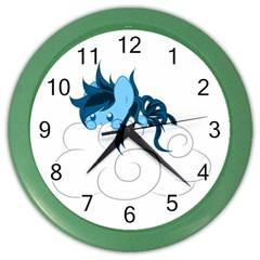 Hiding Wall Clock (Color)