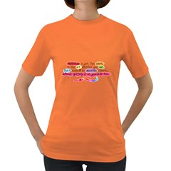 Happiness Womens' T-shirt (Colored)