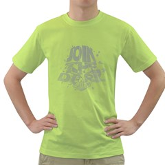 Join the Dark Side! Mens  T-shirt (Green)