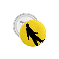 Walking Traffic Sign 1.75  Button