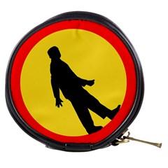 Walking Traffic Sign Mini Makeup Case