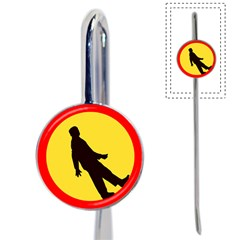 Walking Traffic Sign Bookmark
