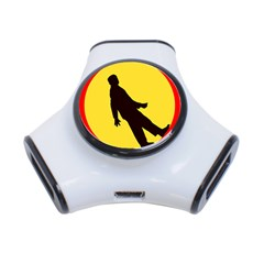 Walking Traffic Sign 3 Port USB Hub