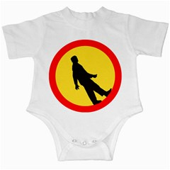Walking Traffic Sign Infant Creeper