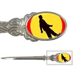 Walking Traffic Sign Letter Opener