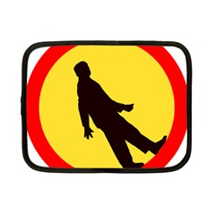 Walking Traffic Sign Netbook Case (Small)