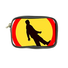 Walking Traffic Sign Coin Purse
