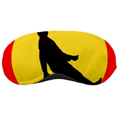Walking Traffic Sign Sleeping Mask