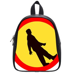 Walking Traffic Sign School Bag (Small)