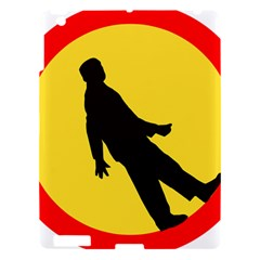 Walking Traffic Sign Apple iPad 3/4 Hardshell Case