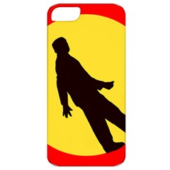 Walking Traffic Sign Apple iPhone 5 Classic Hardshell Case