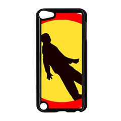 Walking Traffic Sign Apple Ipod Touch 5 Case (black)