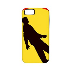 Walking Traffic Sign Apple Iphone 5 Classic Hardshell Case (pc+silicone)
