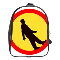Walking Traffic Sign School Bag (xl)