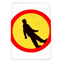 Walking Traffic Sign Removable Flap Cover (Large)