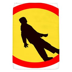 Walking Traffic Sign Removable Flap Cover (Small)