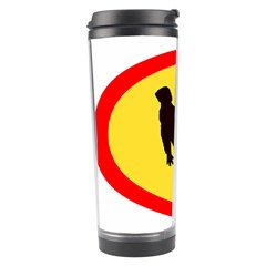 Walking Traffic Sign Travel Tumbler