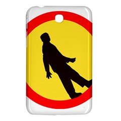 Walking Traffic Sign Samsung Galaxy Tab 3 (7 ) P3200 Hardshell Case