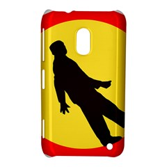 Walking Traffic Sign Nokia Lumia 620 Hardshell Case