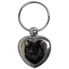 I am watching you! Key Chain (Heart)