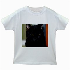 I Am Watching You! Kids' T Shirt (white)