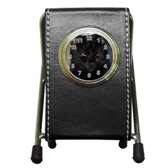 I am watching you! Stationery Holder Clock