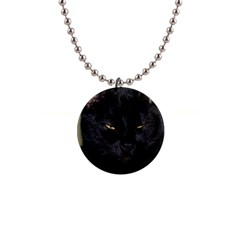 I am watching you! Button Necklace