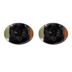 I Am Watching You! Cufflinks (oval)