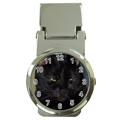 I am watching you! Money Clip with Watch