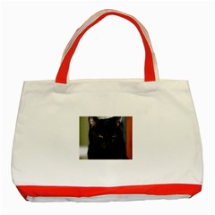 I am watching you! Classic Tote Bag (Red)