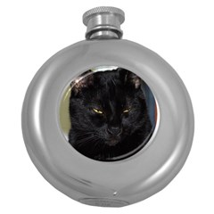 I am watching you! Hip Flask (Round)