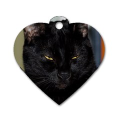 I Am Watching You! Dog Tag Heart (two Sided)