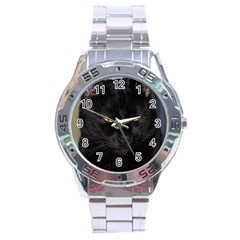 I am watching you! Stainless Steel Watch (Men s)