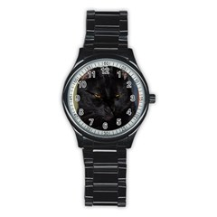 I am watching you! Sport Metal Watch (Black)