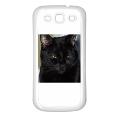 I am watching you! Samsung Galaxy S3 Back Case (White)