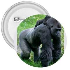 Gorilla Dad 3  Button