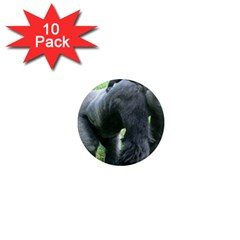 gorilla dad 1  Mini Button Magnet (10 pack)