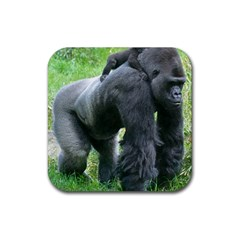 gorilla dad Drink Coasters 4 Pack (Square)