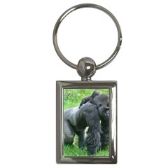 Gorilla Dad Key Chain (rectangle)