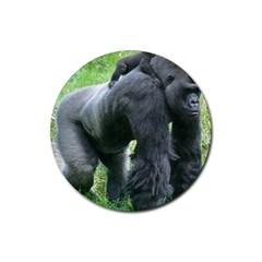 gorilla dad Drink Coaster (Round)