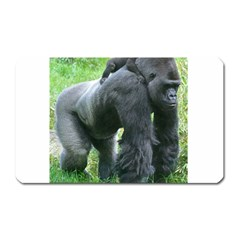Gorilla Dad Magnet (rectangular)