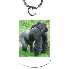 Gorilla Dad Dog Tag (one Sided)